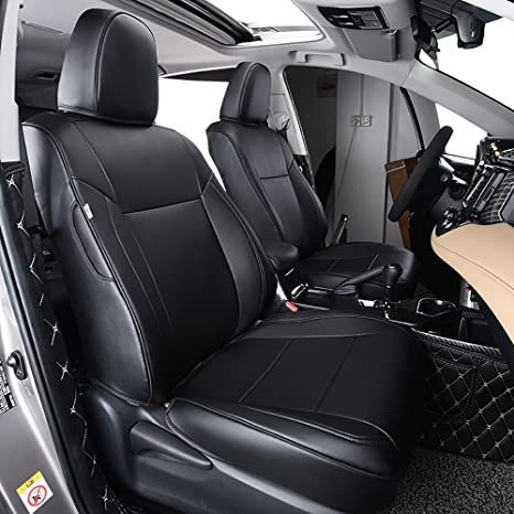Marvelous Behave Autos Ra Zd001 Car Leather Seat Covers Fit Toyota Rav4 2013 2014 2015 2016 2017 2018 Auto Full Set Seat Cushion Protector 4Pcs Saddle Forskolin Free Trial Chair Design Images Forskolin Free Trialorg