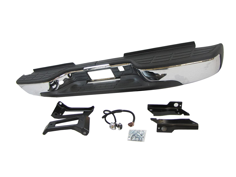 New Rear Step Bumper Assy Chrome 1999 2006 Chevy Gmc Sierra Front Diagram Siverado 2500hd 3500 Automotive