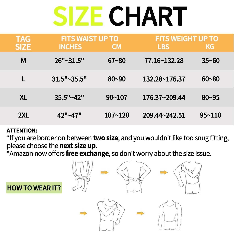 KIWI RATA Men Body Shaper Slimming Vest Compression Shirts Tummy Control Tank Top Belly Slimmer Underwear