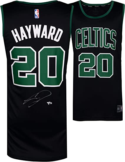 b6146bc2b59 Gordon Hayward Boston Celtics Autographed Fanatics Black Fastbreak Jersey -  Fanatics Authentic Certified