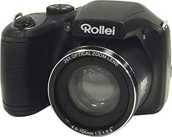 Rollei Powerflex 260 - Cámara compacta Bridge, superzoom x26, 16 Megapíxeles, función vídeo