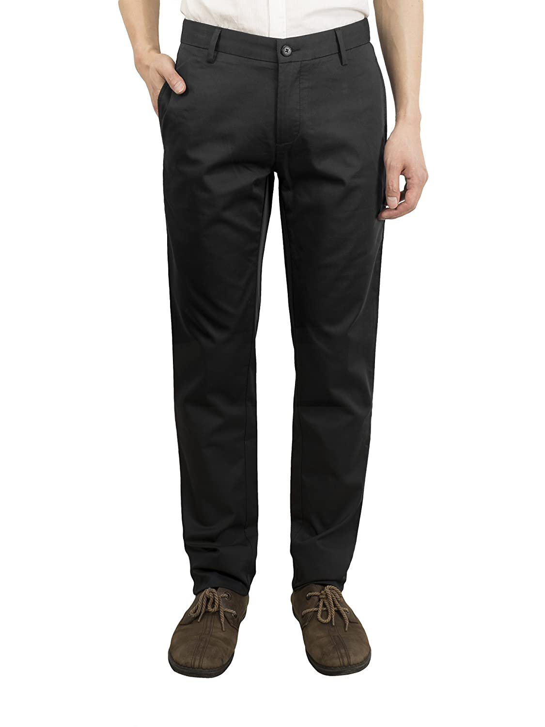 138efc62b15b4a CloSoul Direct Chino Hose Herren Business Hosen Anzughose Anzug Hose Casual  Slim: Amazon.de: Bekleidung