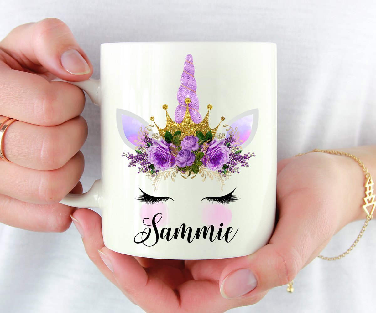 Personalized Unicorn Mug, Unicorn Lover Gift