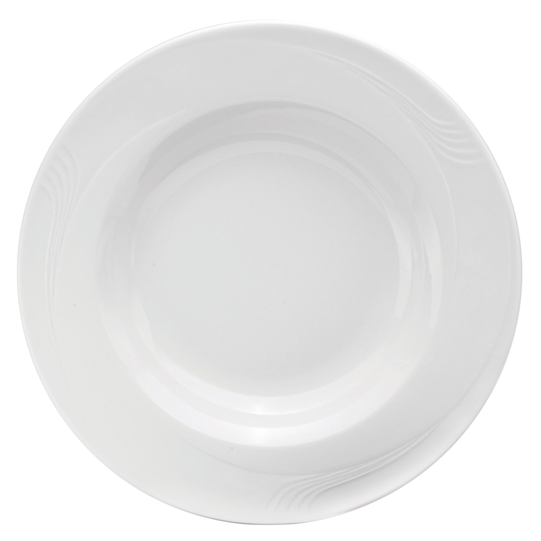 Oneida Foodservice F1040000790 Espree Pasta Bowls, 11'', Cream White Porcelain, Set of 12
