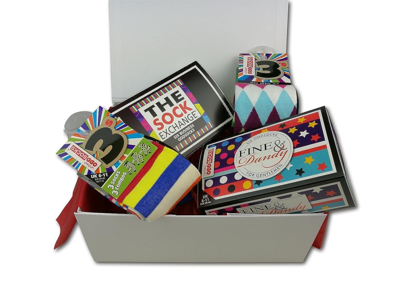 United Oddsocks - Men Socks - Limited Edition Oddsocks Hamper Gift For Men