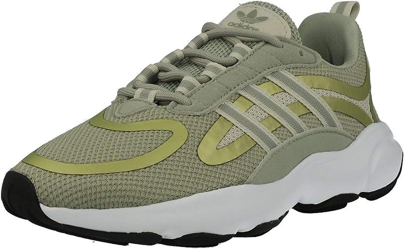 campo alguna cosa Despertar  adidas Originals Haiwee J Sesame Mesh Youth Trainers Shoes: Amazon.co.uk:  Sports & Outdoors