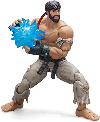 NYCC 2017 Exc Street Fighter V Hot Ryu Black Pants Figure Storm Collectibles