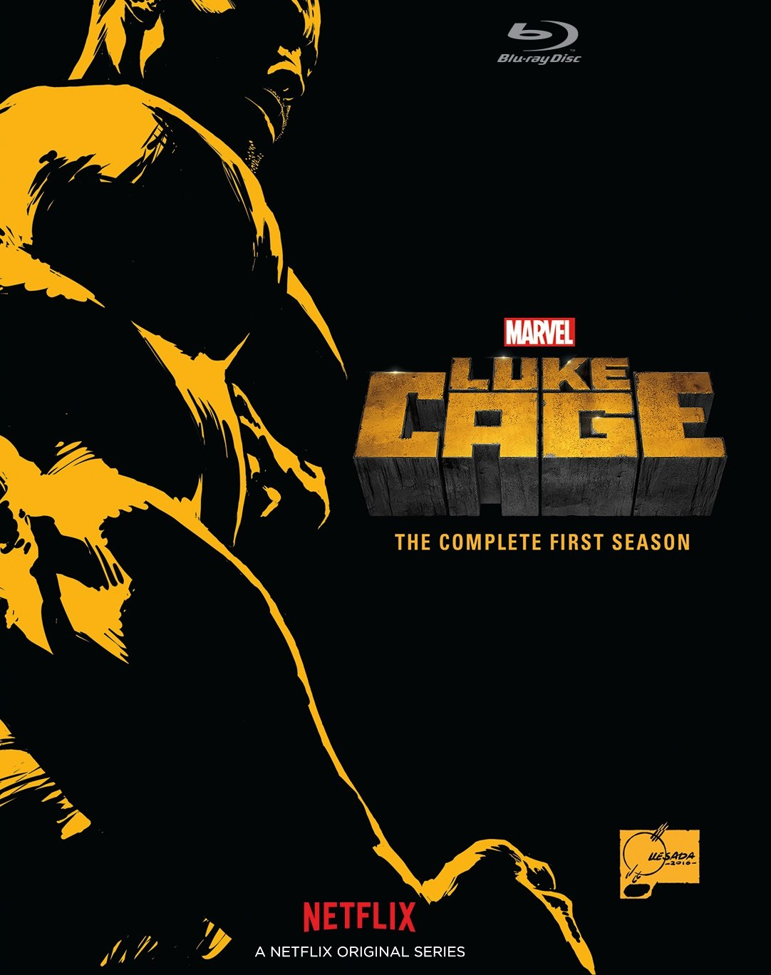 Luke Cage: The Complete First Season [Blu-ray] Mike Colter Walt Disney Video Drama Movie
