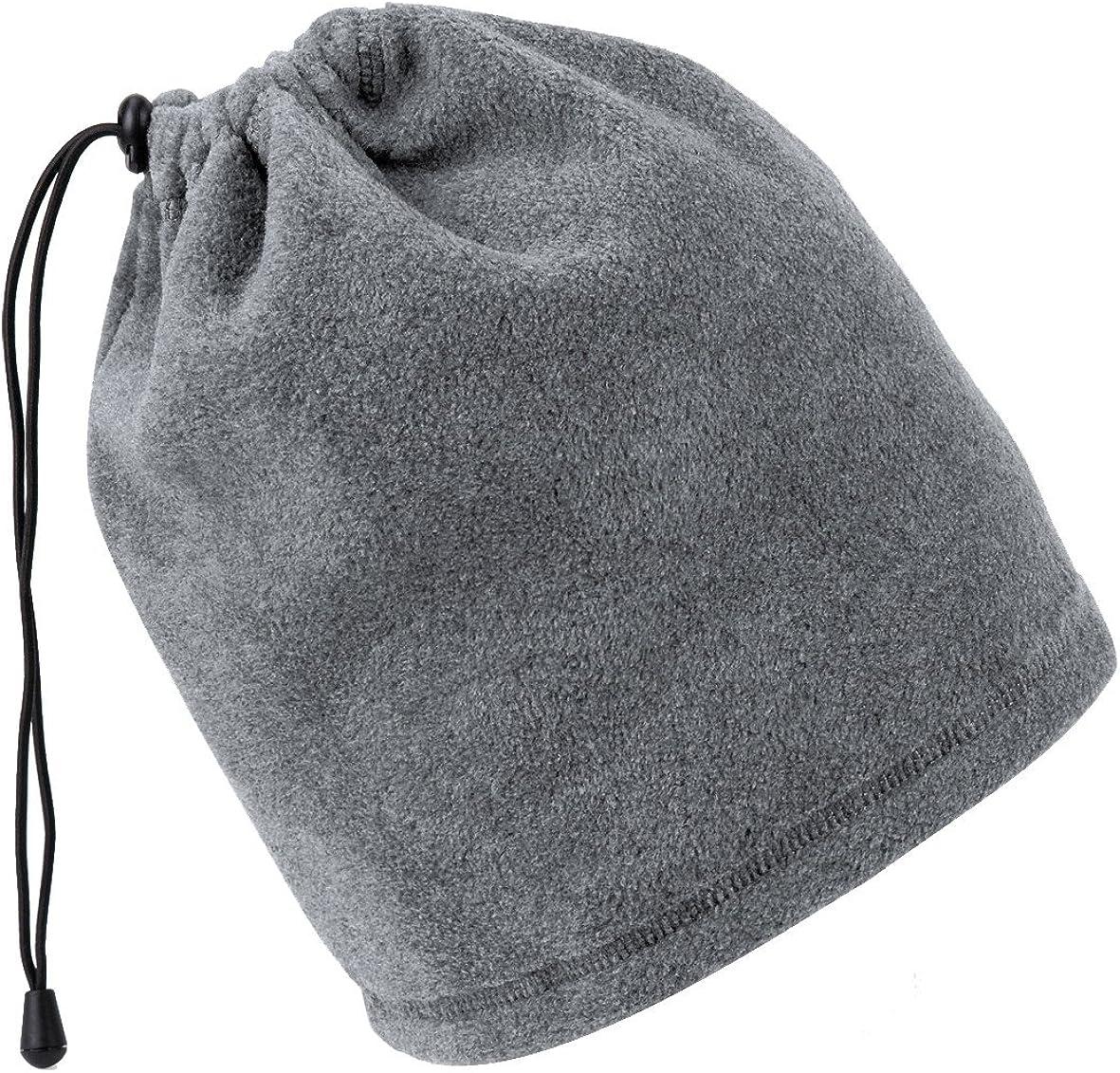 Beechfield FLEECE MORF NECK HEAD WARMER SNOOD WARM WINTER SPORT SKI SCARF UNISEX