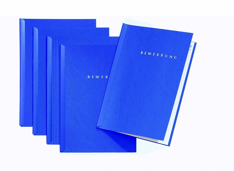 Pagna Bewerbungsset Start Basic (5 Bewerbungsmappen) blau: Amazon.de:  Bürobedarf & Schreibwaren