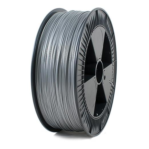 3 opinioni per Ice Filaments ICEFIL1PLA117 Filamento PLA 1.75mm, 2.30kg, Argento