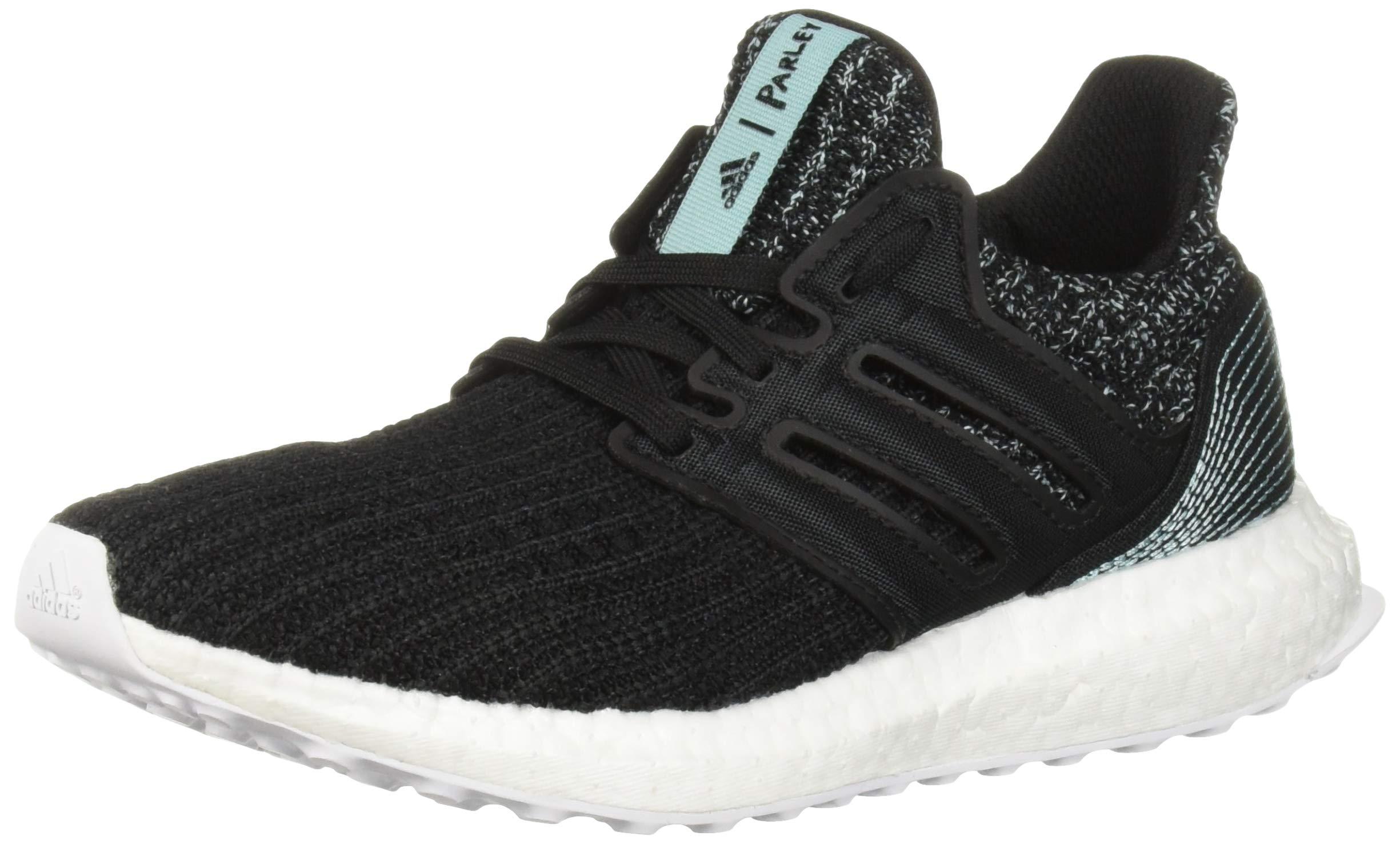 adidas Unisex Ultraboost Parley Running Shoe Black/White, 6 M US Big Kid
