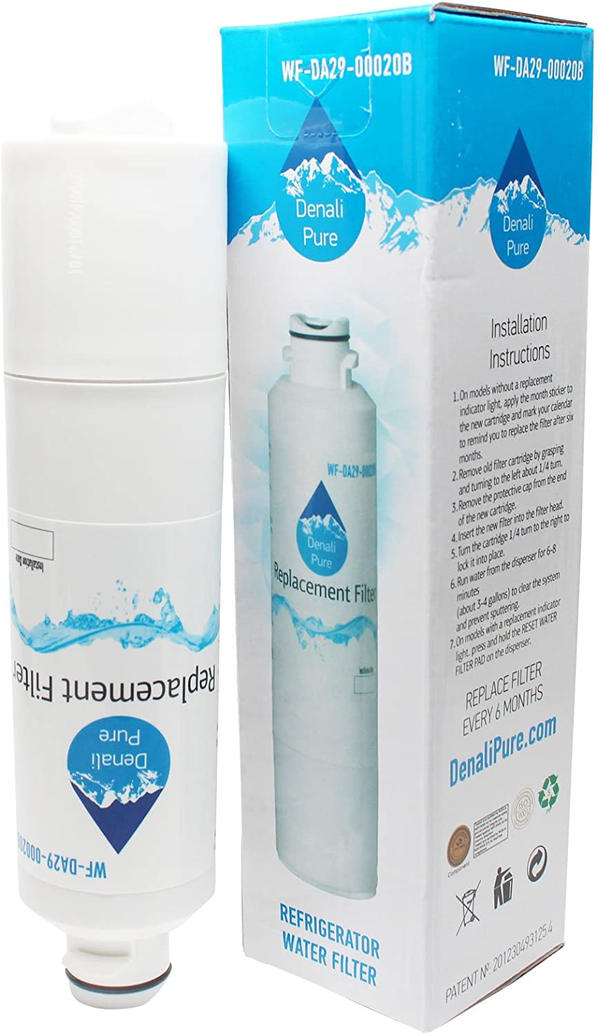 Replacement for Samsung RS267TDRS Refrigerator Water Filter - Compatible with Samsung DA29-00020B, DA29-00020A, HAF-CIN Fridge Water Filter Cartridge