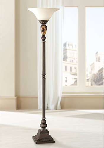 Kathy Ireland Mulholland 72″ High Torchiere Floor Lamp