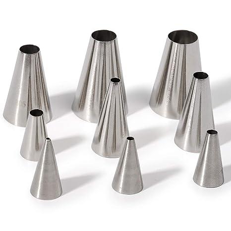 Amazon.com: Kayaso Juego de 9 piezas de tubo liso con 20 ...