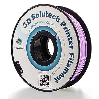 Amazon.com: solutech Impresora 3d filamento, lavanda púrpura ...