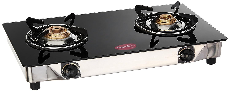 Gas Kitchen Ranges Buy Pigeon Backline Smart 2 Burner Gas Stove Black Online At Low