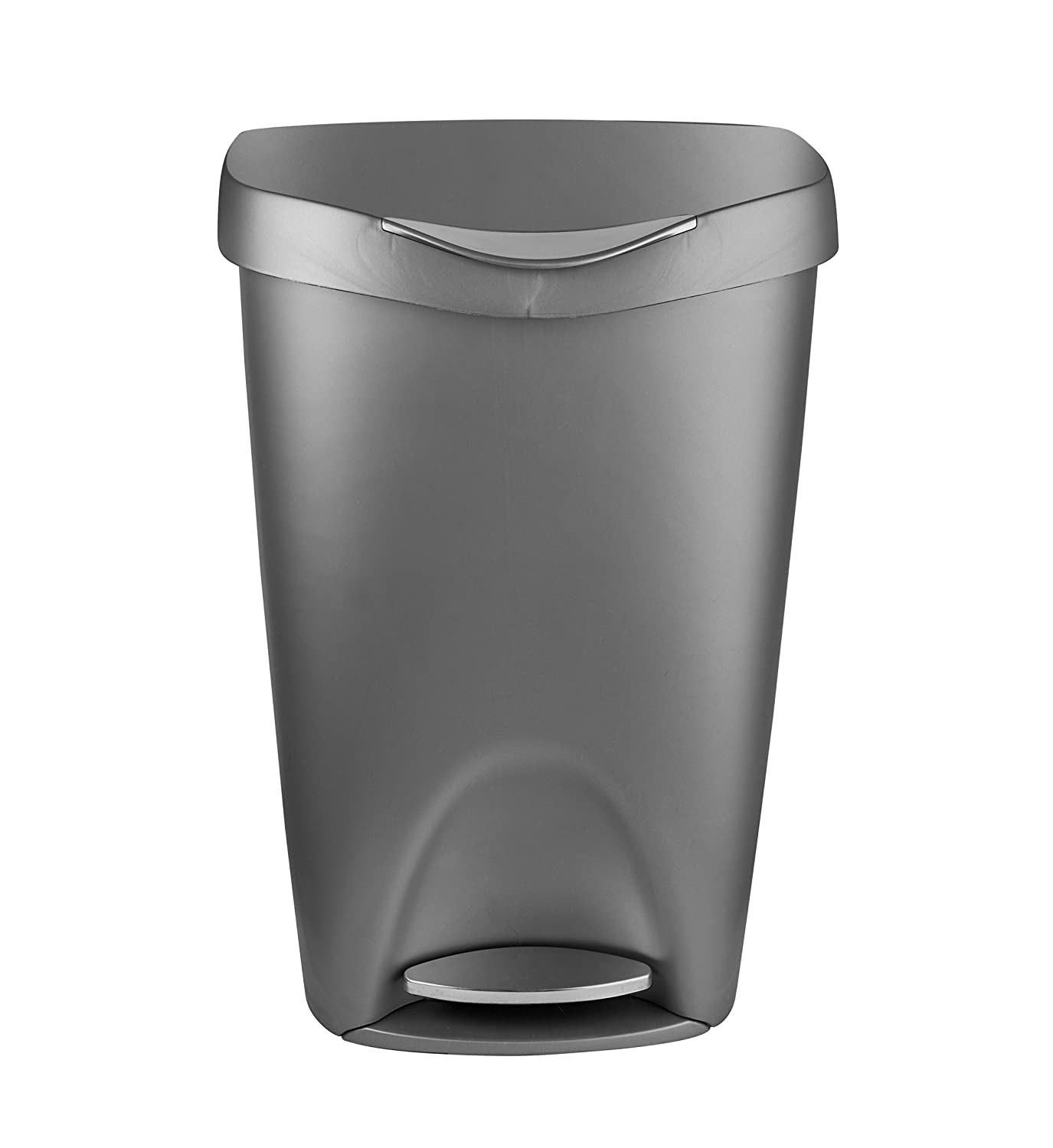 Amazoncom Umbra Brim 13 Gallon Trash Can With Lid Large Kitchen