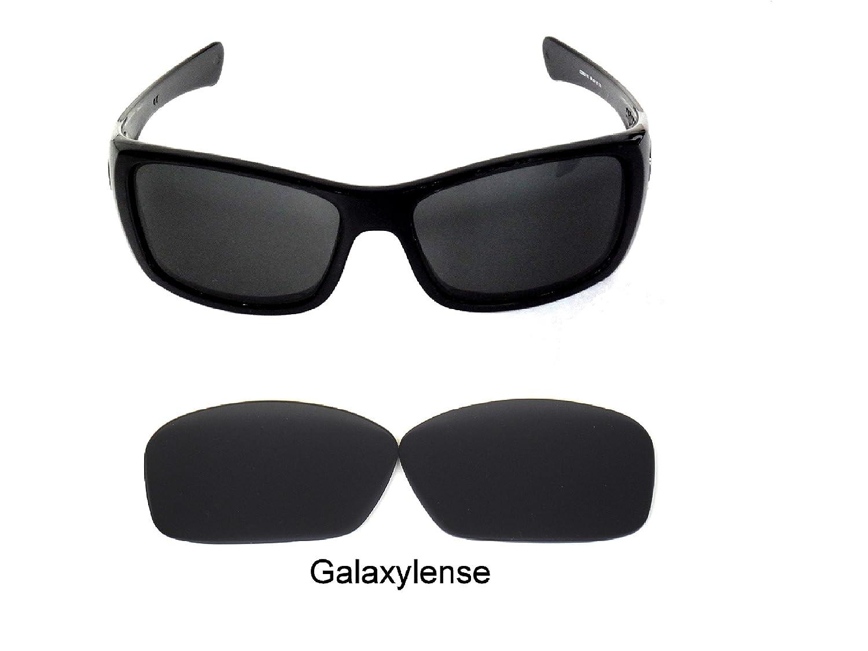 b587252f0d2 Amazon.com  Galaxy Replacement Lenses For Oakley Hijinx Sunglasses Black  Polarized  Clothing