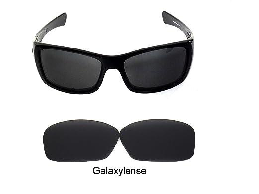 783ade6a33a Galaxylense Men s Replacement Lenses For Oakley Hijinx Sunglasses Black  Polarized