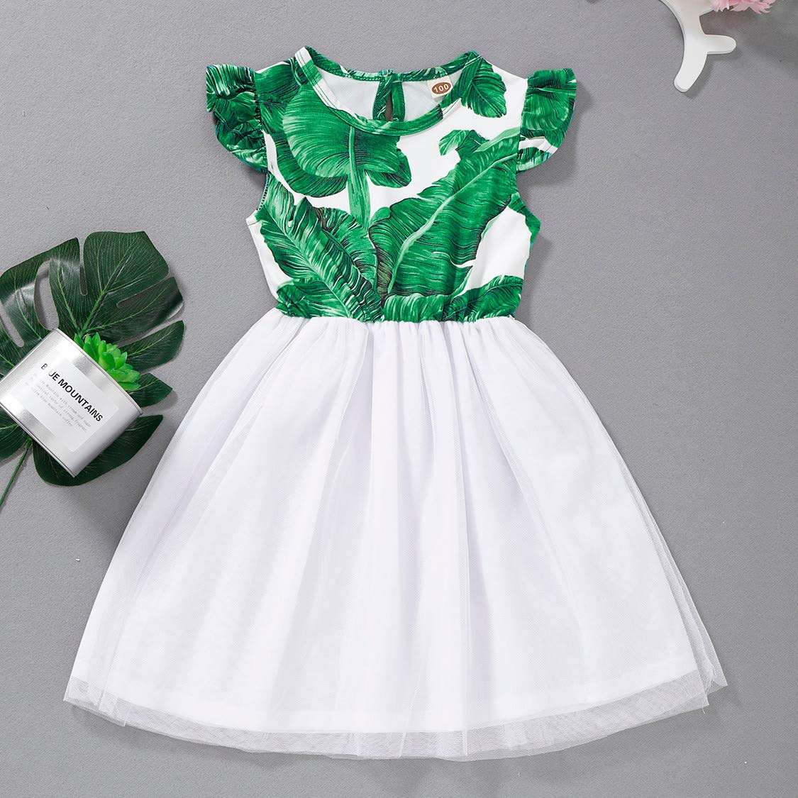 UK Toddler Baby Kid Dress Girls Letter Tulle Patchwork Hooded Sweatshirt Dresses