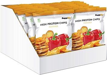 Supplify Protein Chips Eiweiß Fitness Snack Mix Box Whey