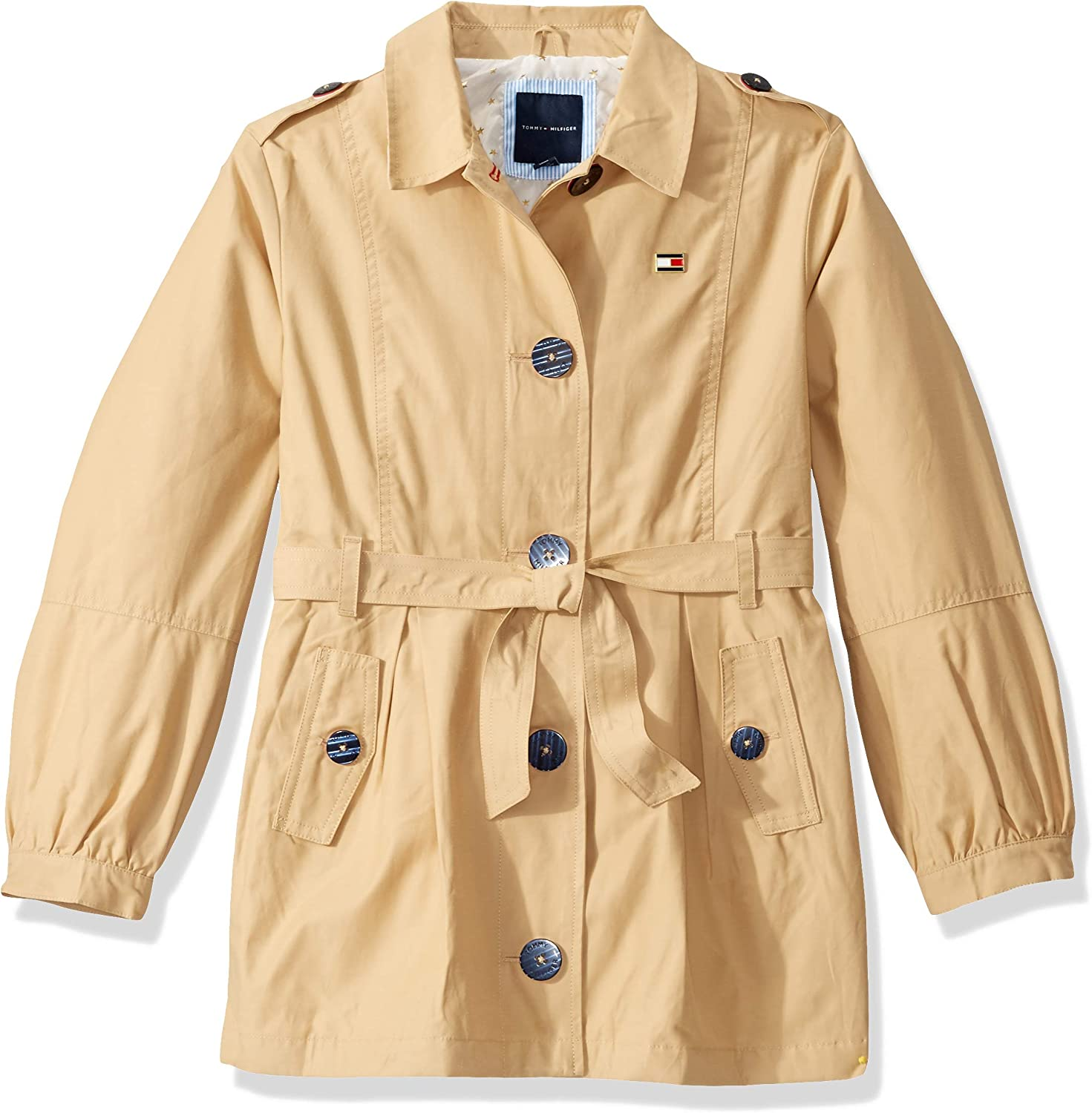 Tommy Hilfiger Girls Light Nylon Parka Coat