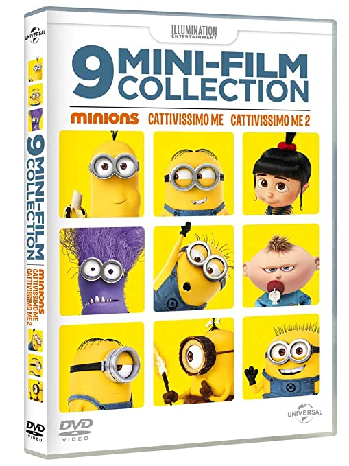 Minions 9 Mini Movie Collection Dvd Amazonit Minion Non