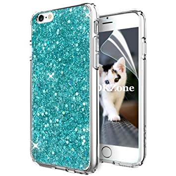 OKZone Funda iPhone 6S,Funda iPhone 6, Cárcasa Brilla Glitter ...