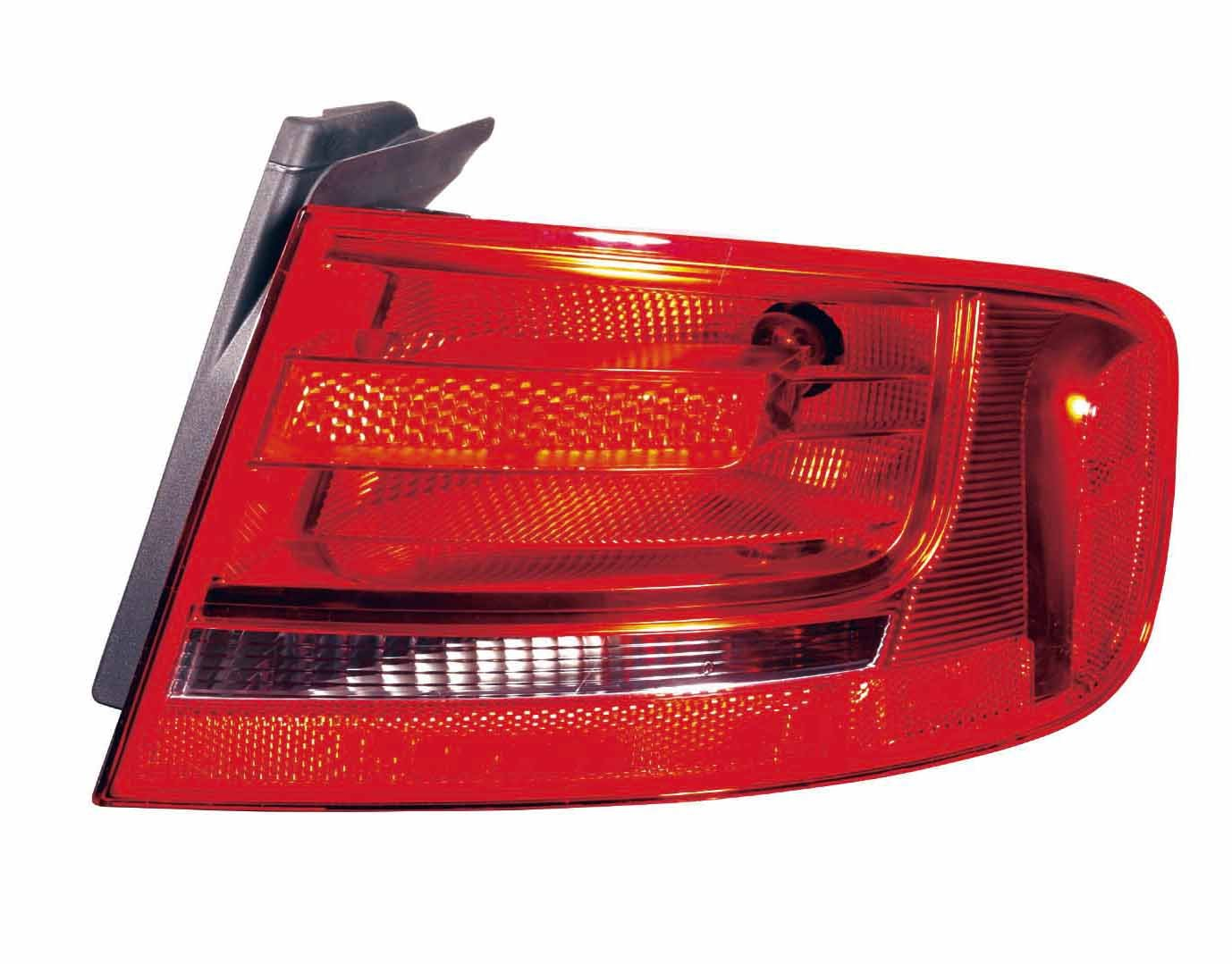 Depo 346-1906L-US Audi A4 Driver Side Outer Tail Lamp Assembly with Bulb and Socket