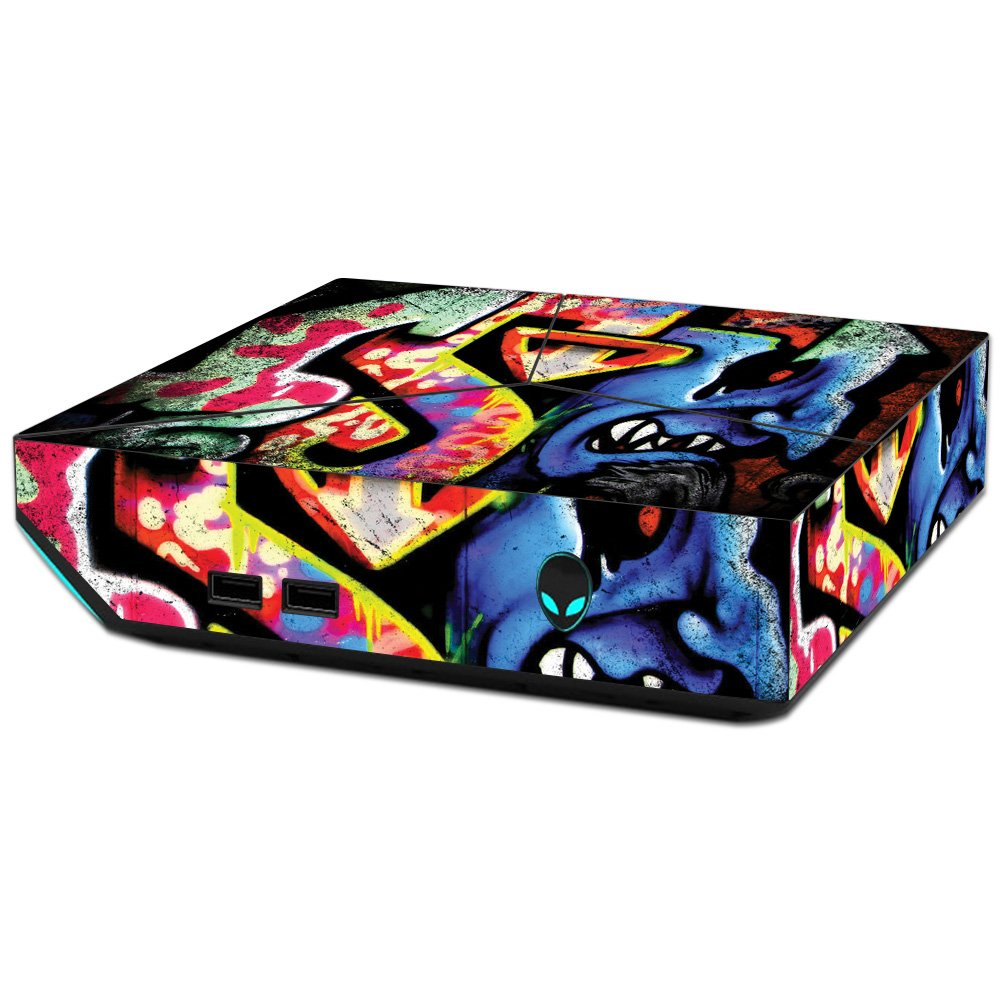 MightySkins Skin For Alienware Steam Machine - Loud Graffiti   Protective, Durable, and Unique Vinyl Decal wrap cover   Easy To Apply, Remove, and Change Styles   Made in the USA