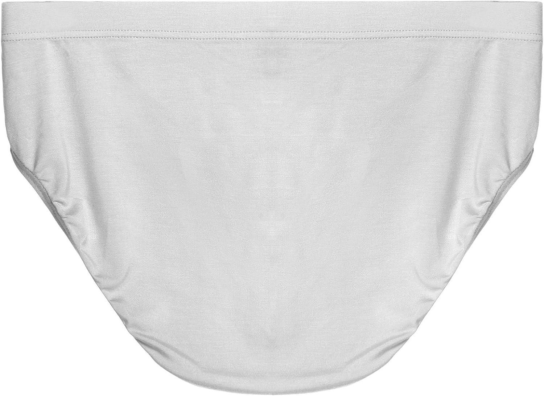 Avidlove Men Underwear 3-Packs Modal Cotton Bikinis Stretch Hip Briefs