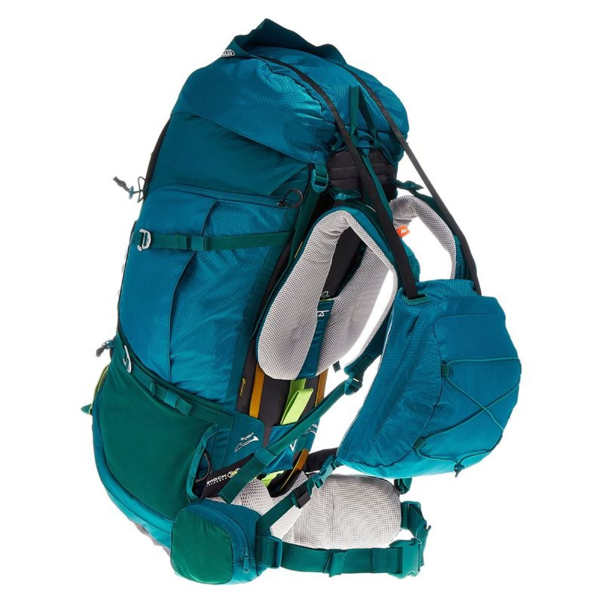 Amazon.com: DECATHLON QUECHUA SYMBIUM ACCESS 70+10L WOMENS TREKKING BACKPACK - LIGHT BLUE: Clothing