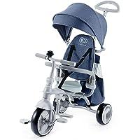 Kinderkraft KKRJAZZPNK0000 Jazz - Triciclo 4 in 1, per bambini