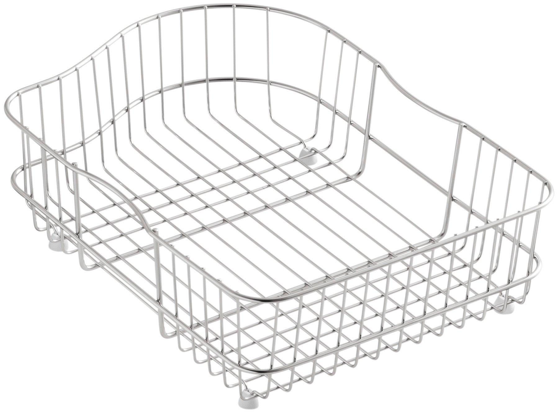 Kohler K-6603R-ST Hartland Wire Rinse Basket, Stainless Steel by Kohler