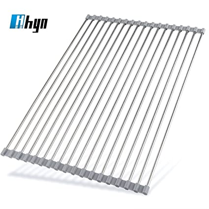 Extra Large Dish Drying Rack Inspiration Amazon Roll Up Dish Drying Rack By Hhyn 6060L X 60W