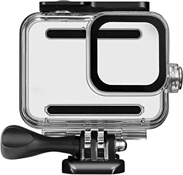 Diving Protective Housing Shell 60 Meter with Quick Release Bracket /& Thumbscrew Accessories Waterproof Housing Case for GoPro Hero 8 Action Camera