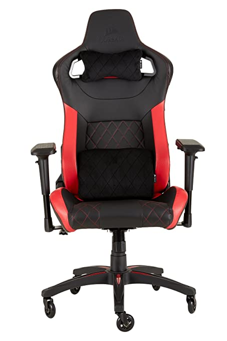 Corsair CF-9010013 WW T1 Race Gaming Chair Racing Design Black/Red  sc 1 st  Amazon.com : race gaming chair - Cheerinfomania.Com