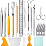 21 Pcs Craft Tools Set, Vinyl Weeding Tools, Craft Basic Set, Craft Vinyl Tools Kit for Silhouettes/Cameos/Lettering/Cutting/