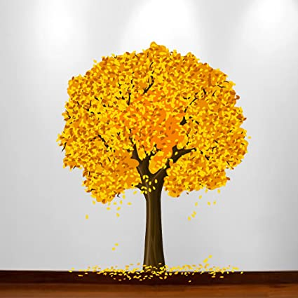 Amazon.com: Large Wall Tree Baby Nursery Decal Flower Cherry Blossom ...