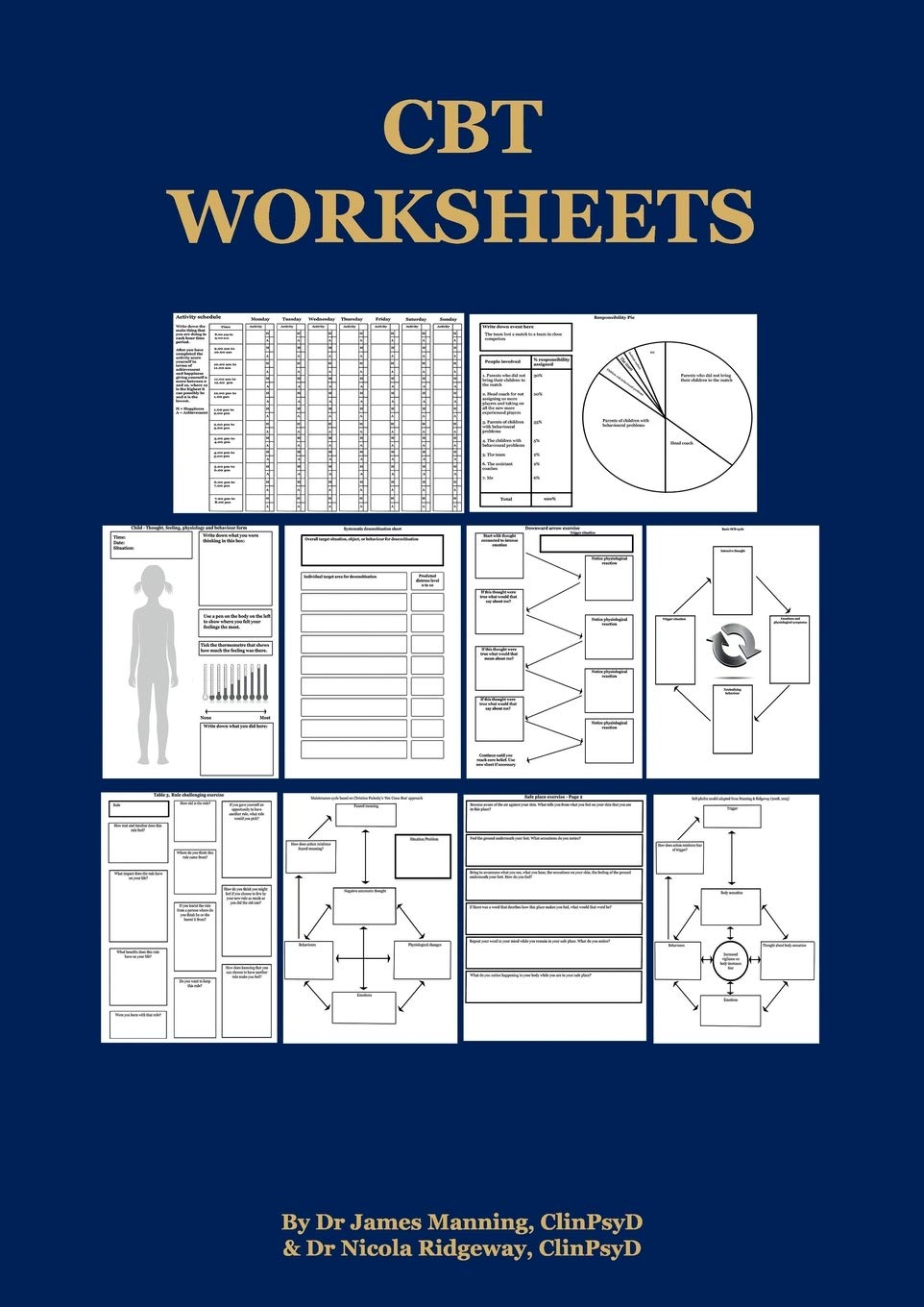 - CBT Worksheets: CBT Worksheets For CBT Therapists In Training