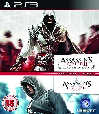 assassin s creed 1 2 ubisoft double pack ps3 amazon co uk pc