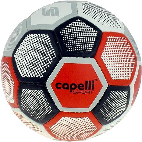 Capelli deporte gradiente parches de balón de fútbol, Red Combo ...