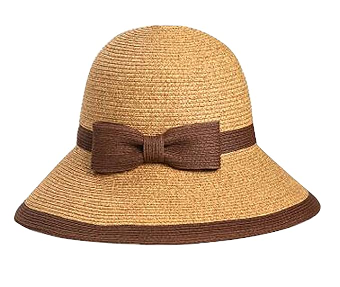 LAI MENG FIVE CATS Summer Sun Beach Straw Hat UPF 50 Protection Anti-UV  Protection eb686d2511ee