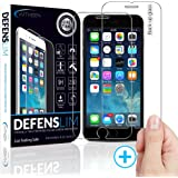 Witkeen HD Anti-Shatter and Oleophobic Tempered Glass Screen Protector for iPhone 6 Plus / 6s Plus - Pack of 2