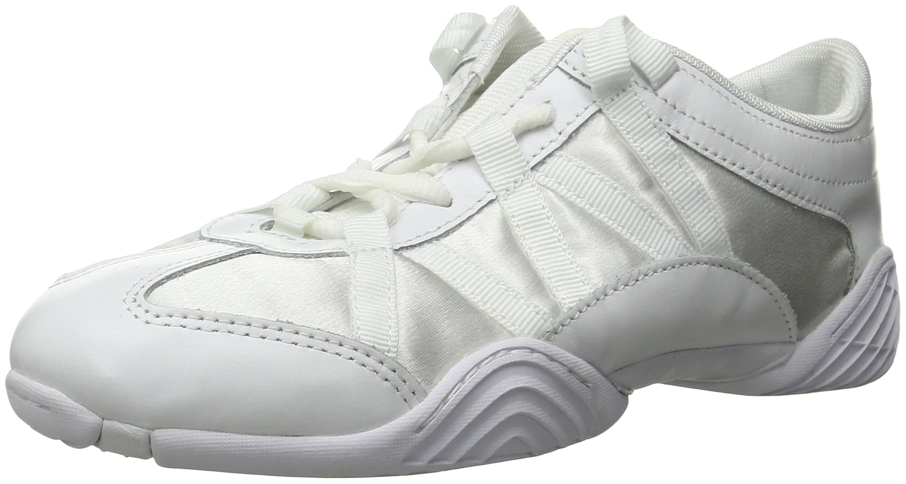 Nfinity Adult Evolution Cheer Shoes, White, 8.5 by Nfinity (Image #1)