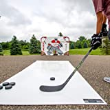 """Snipers Edge All Star Hockey Shooting Pad (30 X 60"""" Inch) That Simulates Real Ice Feel, Heavy Duty Design to Protect Sticks, Weather Proof Coating That's Portable -Made in USA"""