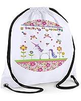 Girls Swim Bag,Girls Swimming Personalised Bag, Gym Bag, Sports Bag, Unicorn Bag