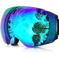 $25 » ZIONOR X4 Ski Snowboard Snow Goggles Magnet Dual Layers Lens Spherical Design Anti-Fog UV…