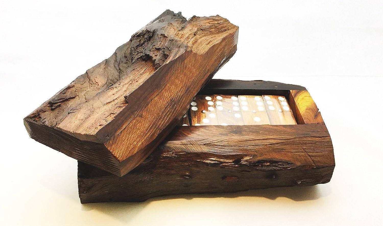 【メーカー直送】 Dominos ironwood beautiful rustic hand carved beautiful Game Game set set (25cm palo fierro) by IECAP LLC B01MTX2BQL, 餃子専門店イチロー:259d8e6b --- ballyshannonshow.com